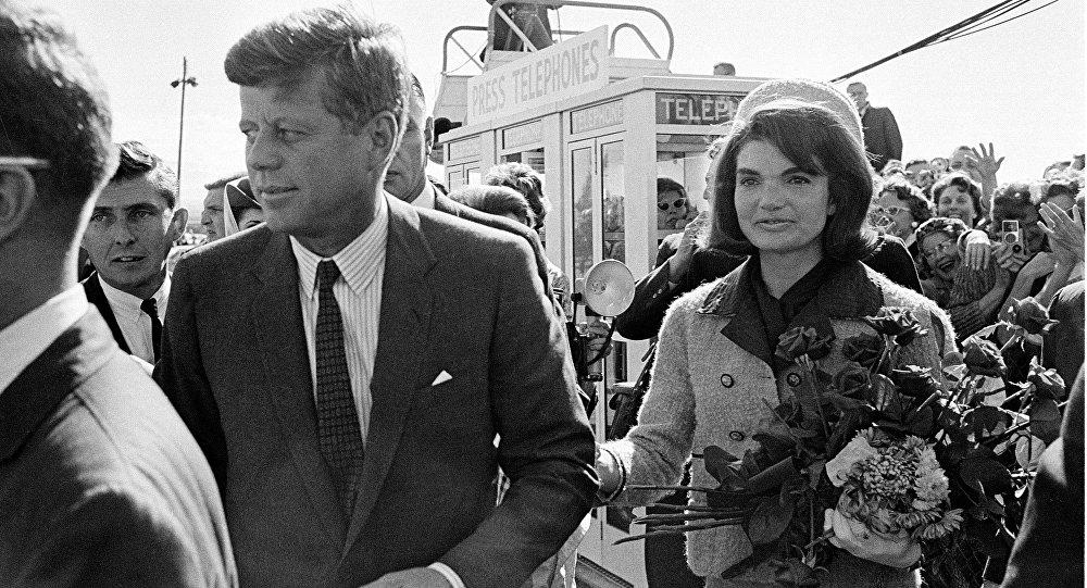 John F. Kennedy et Jacqueline Kennedy