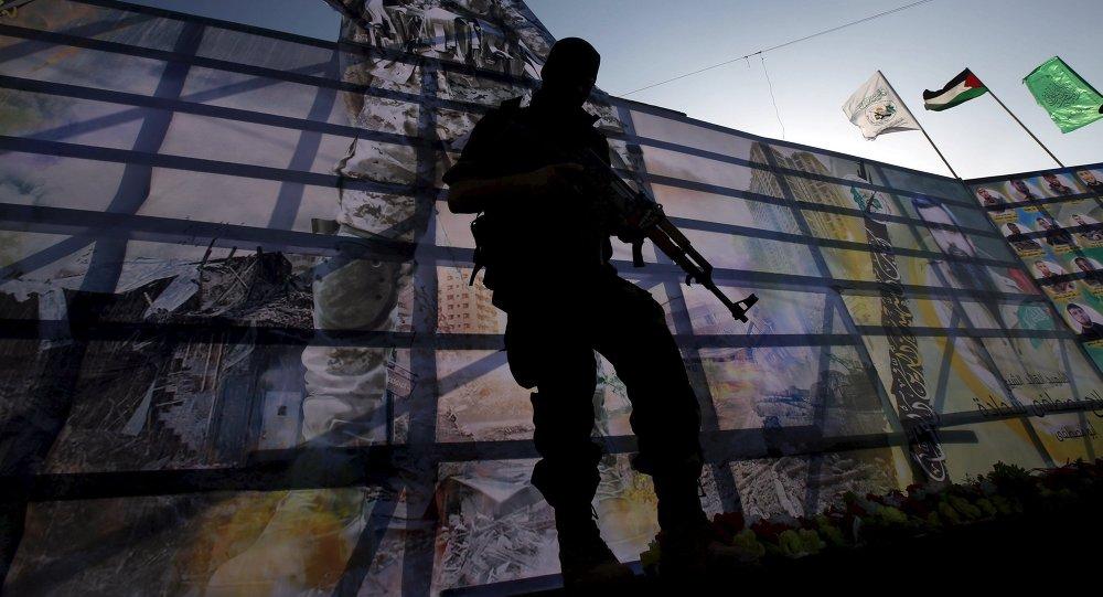Un combattant du Hamas dans la bande de Gaza (image d'illustration)