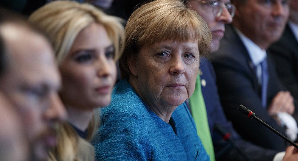 Ivanka et Merkel