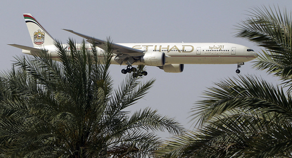 Un avion d'Etihad Airways