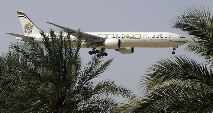 Un avion d'Etihad Airways