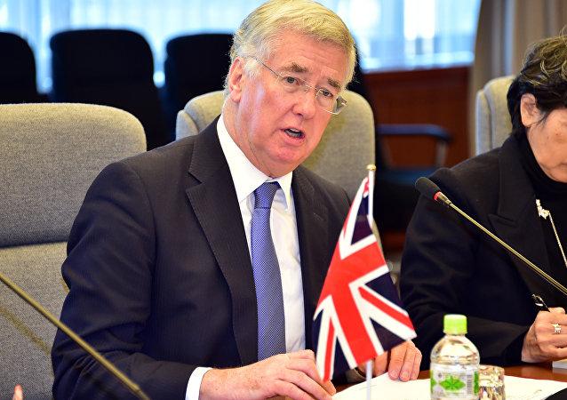 Michael Fallon, secrétaire d'État britannique à la Défense