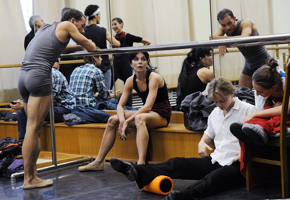Solistes de ballet russe du Théâtre du Bolchoï.