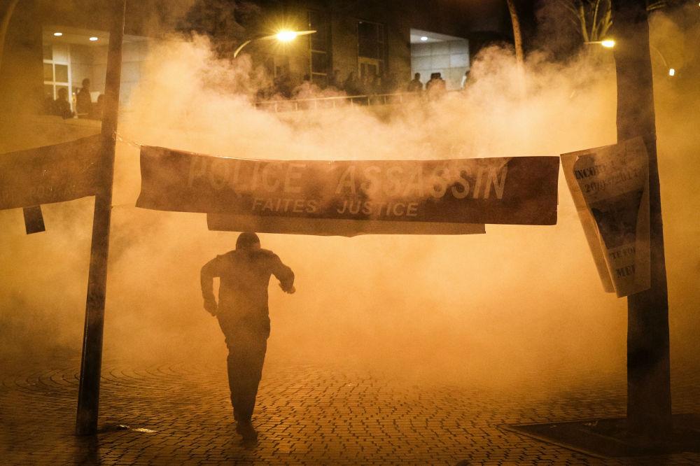 Les manifestations contre la police à Paris