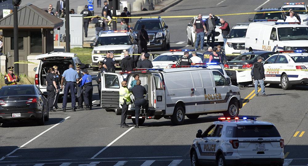Tirs près du Capitole à Washington, l'assaillante en garde à vue