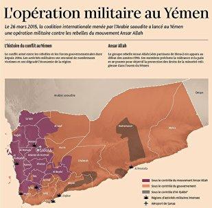 L`opération militaire au Yémen