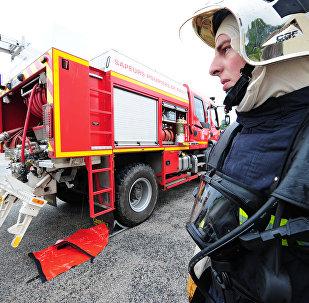 pompiers français, image d'illustation