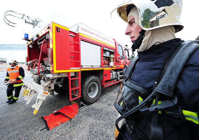 Des pompiers français