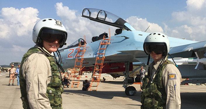 la base aérienne de Hmeimim, en Syrie.