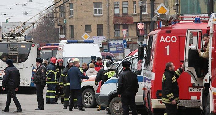 Explosion dans le métro de St-Pétersbourg