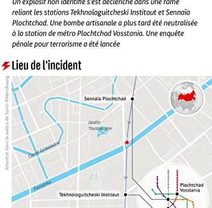 Attentat dans le métro de Saint-Pétersbourg