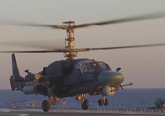 L'hélicoptère Ka-52-K Katran