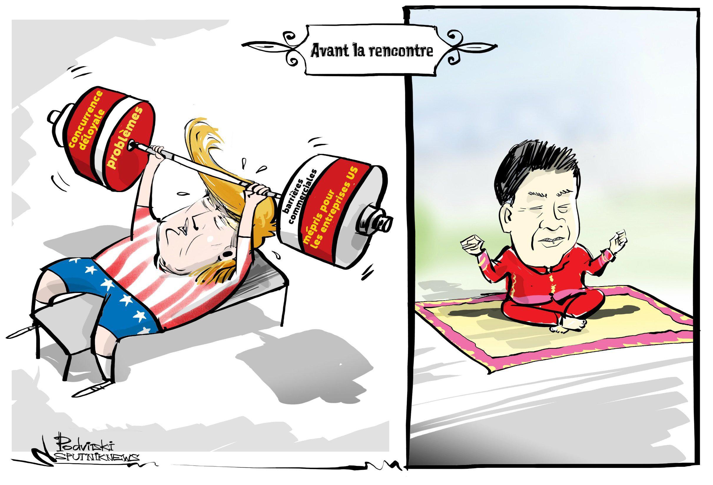Trump se prépare à une réunion «très difficile» avec Xi Jinping