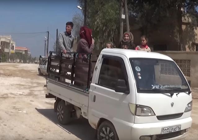 Le village syrien de Majdal