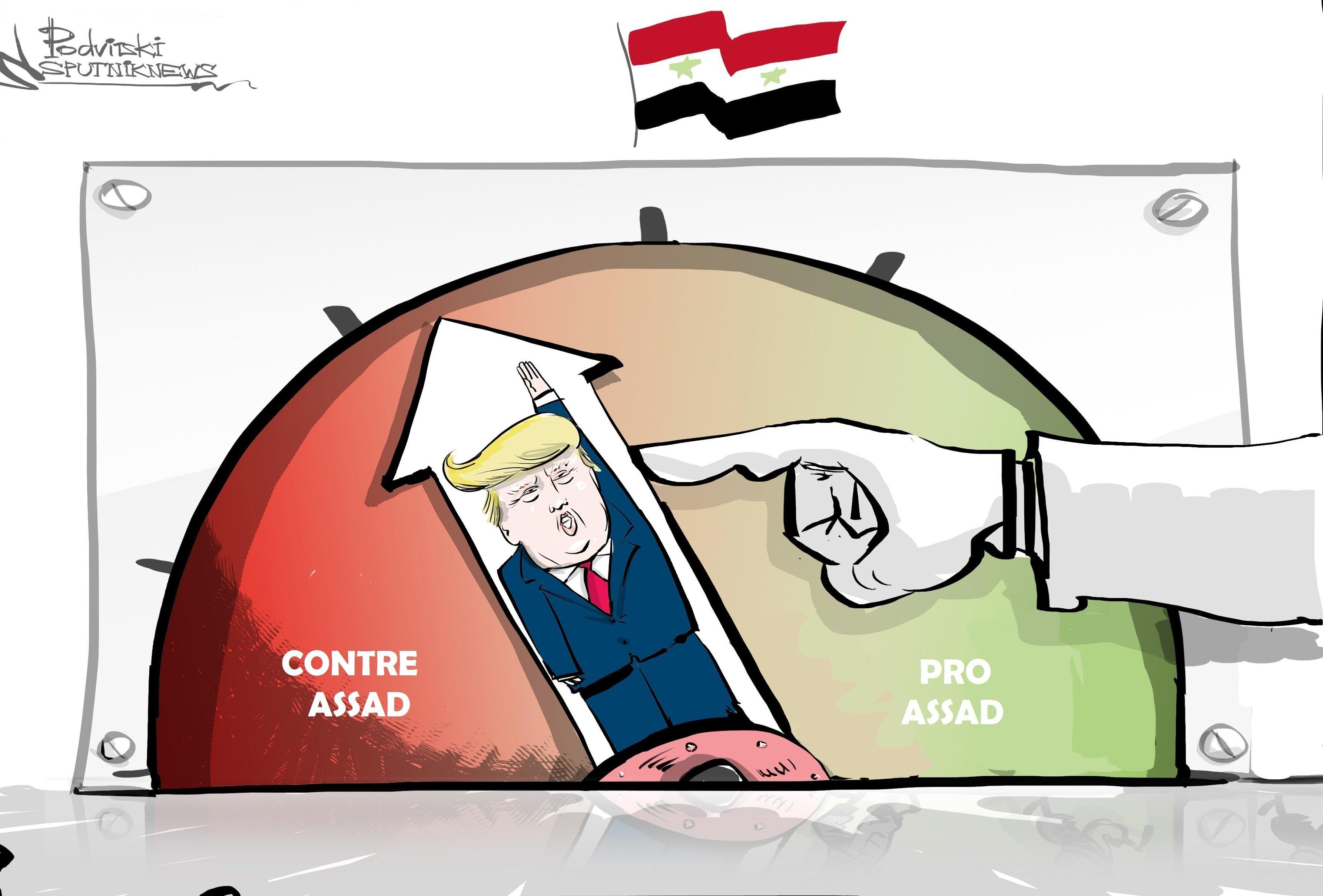 Attaque chimique en Syrie: Donald Trump accuse Bachar al-Assad