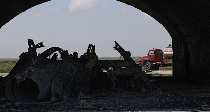 Les conséquences des frappes aériennes US contre la base militaire Shayrat en Syrie
