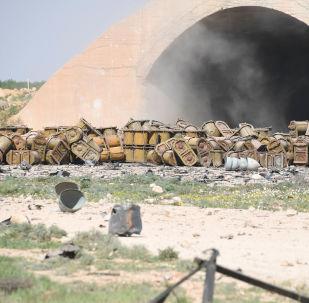La restauration de la base aérienne de Shayrat après l'attaque US est à portée de main