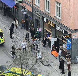 l'attentat de Stockholm