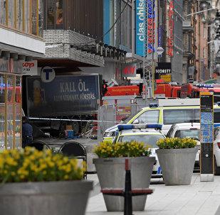 Manifestation en hommage aux victimes de l'attentat à Stockholm
