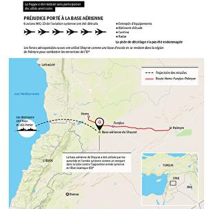 Frappe américaine contre une base aérienne syrienne