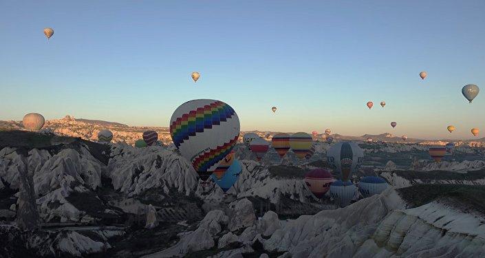 Les montgolfières en Cappadoce