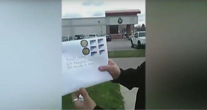 La police US recherche un homme armé qui a envoyé 161 pages de menaces à Trump