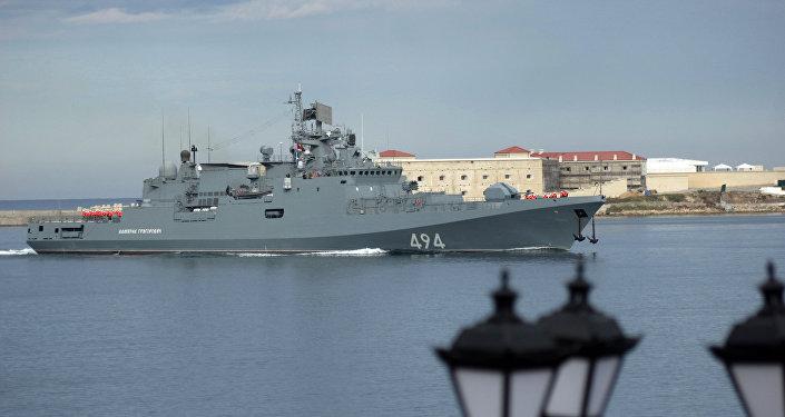 Frégate Admiral Grigorovitch. Archive photo