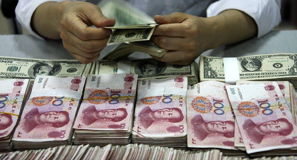 Des yuans et des dollars
