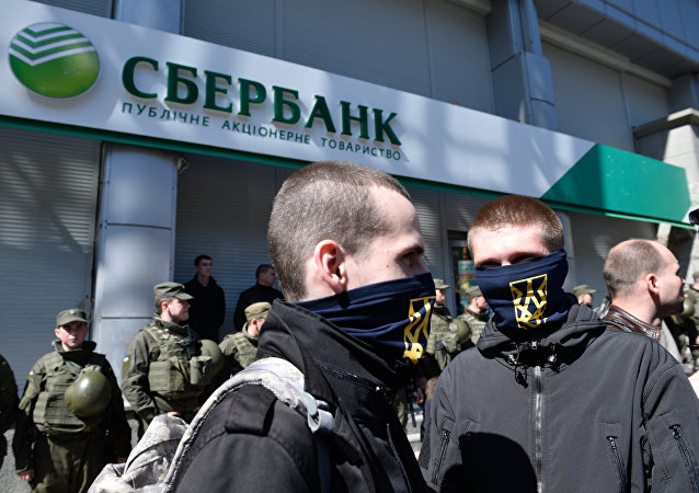 Les banques russes, nouvelles cibles des radicaux ukrainiens