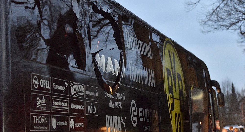 Explosions à Dortmund