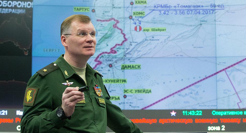 Igor Konachenkov, porte-parole du ministère russe de la Défense