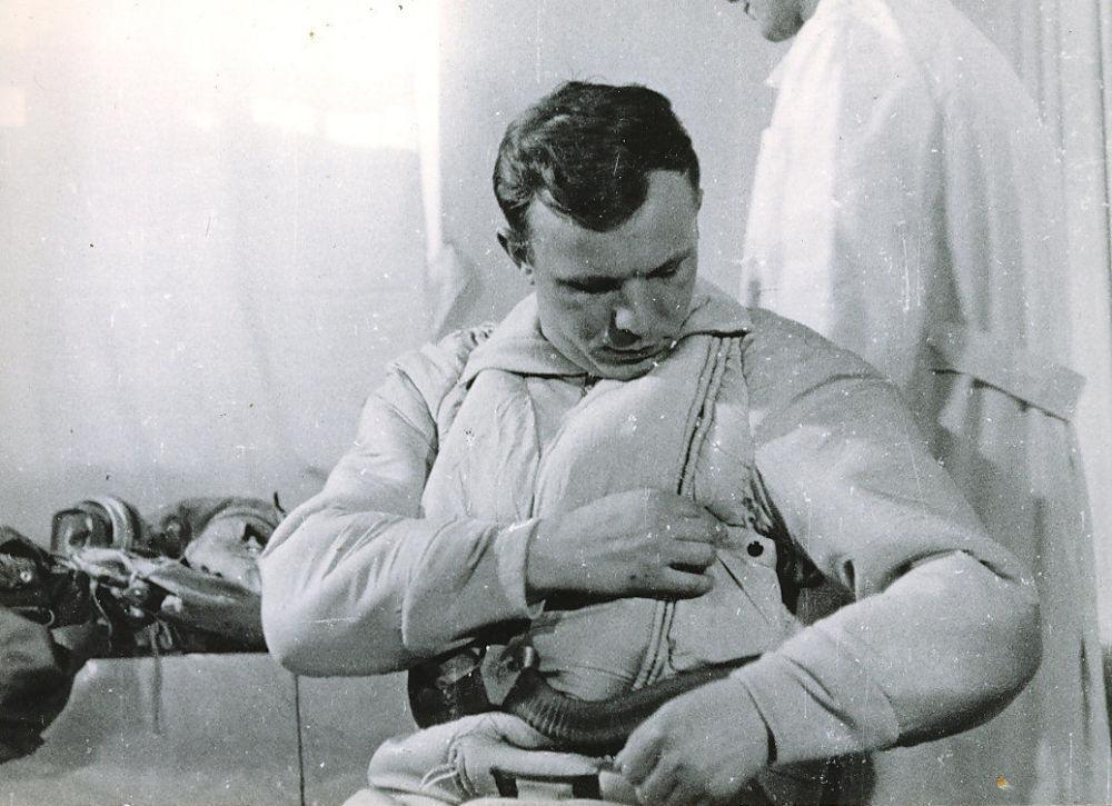Les préparatifs de Youri Gagarine pour son vol historique