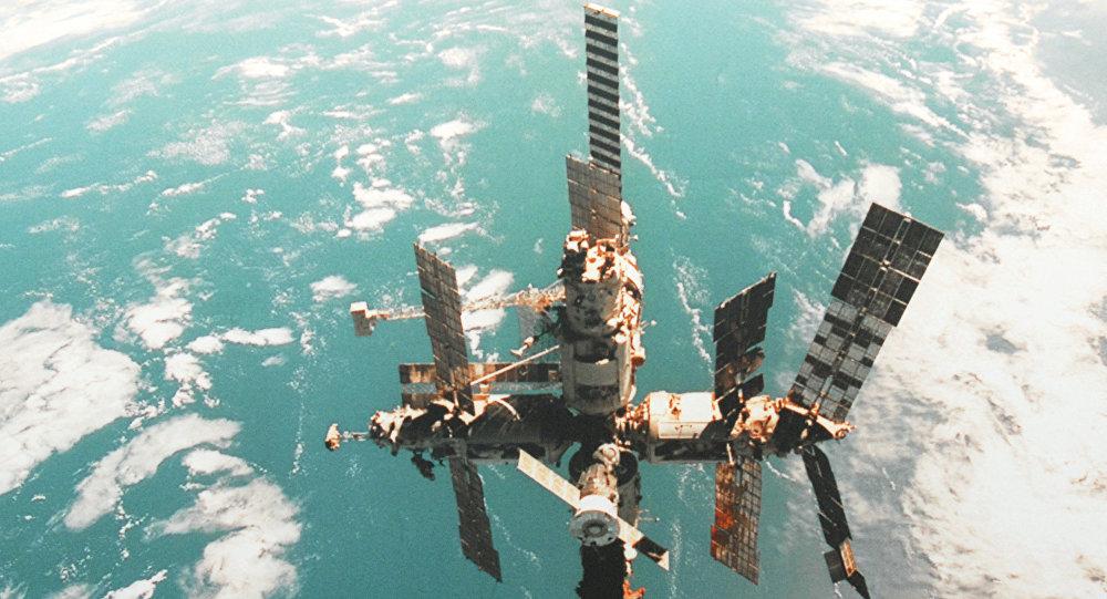 La station orbitale Mir