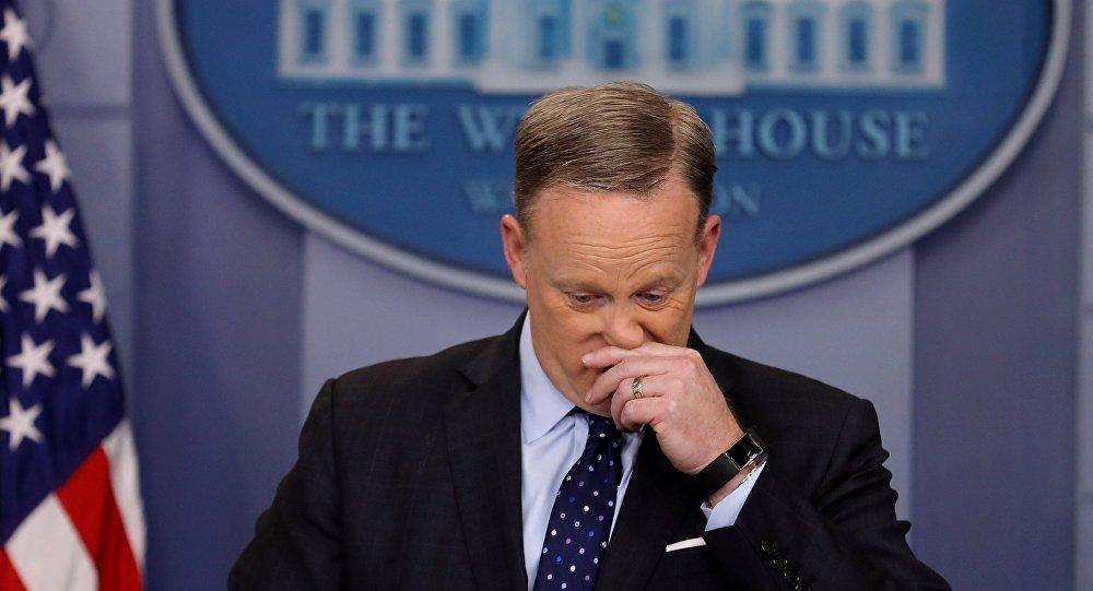 Sean Spicer, porte-parole de la Maison-Blanche, a démissionné