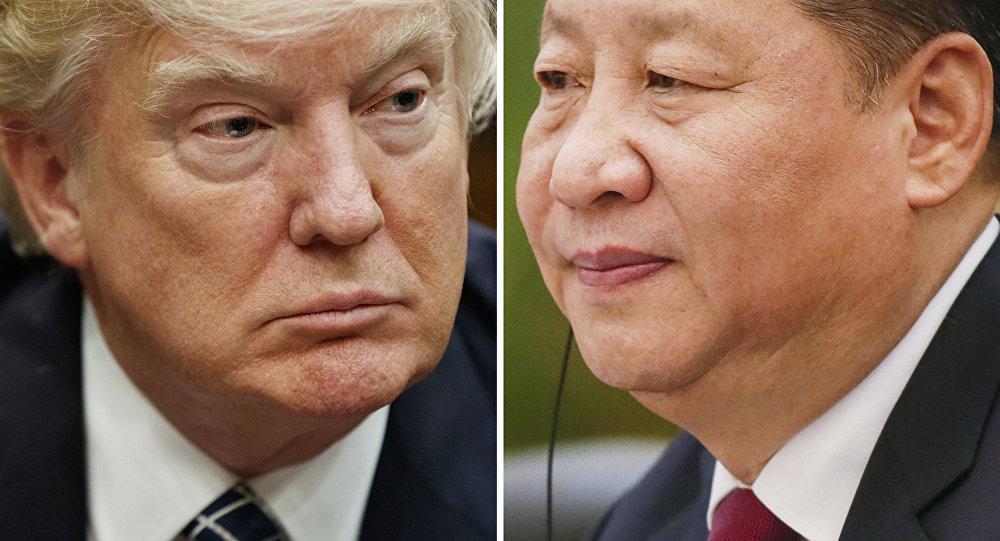 Le Président US Donald Trump et Xi Jinping, secrétaire général du Parti communiste chinois
