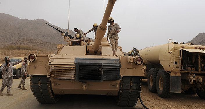 Militaires saoudiens à Jizan