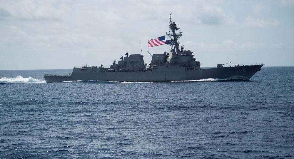 Un destroyer US défile près des îles de la mer de Chine méridionale malgré les tensions