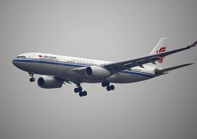 Un avion chinois