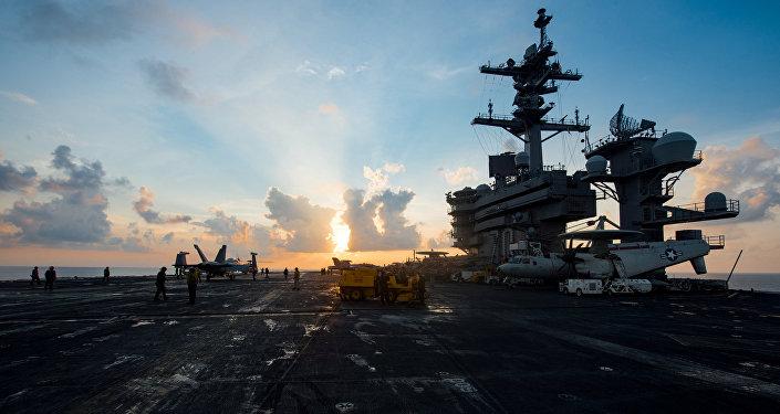 USS Carl Vinson de la Armada de EEUU