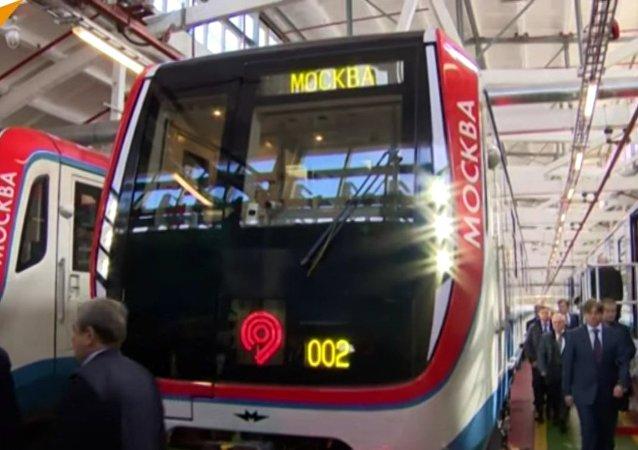 Changement de génération : le métro de Moscou se dote d'un train dernier cri