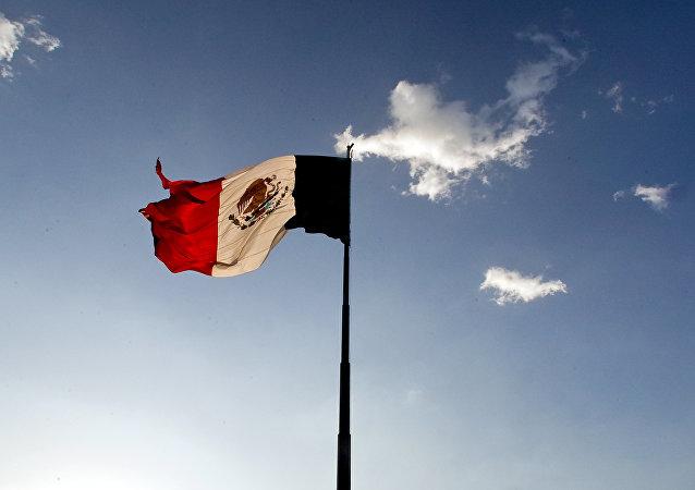 Le drapeau mexicain