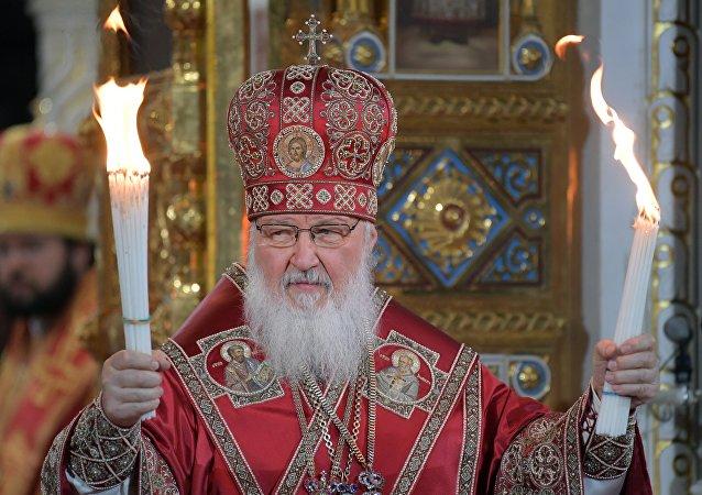 Patriarche de Moscou et de toutes les Russies Cyrille