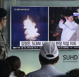 Tir de missile nord-coréen: la Chine appelle à la prudence
