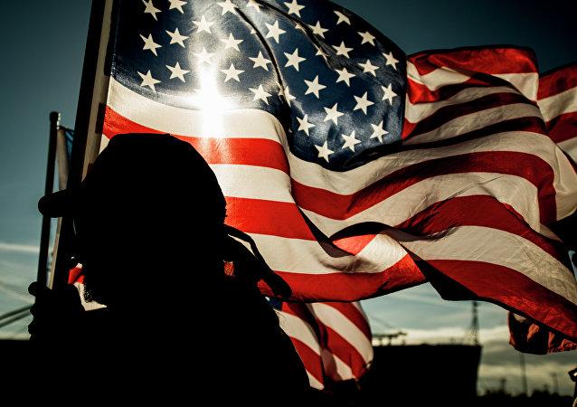 Drapeaux des Etats-Unis