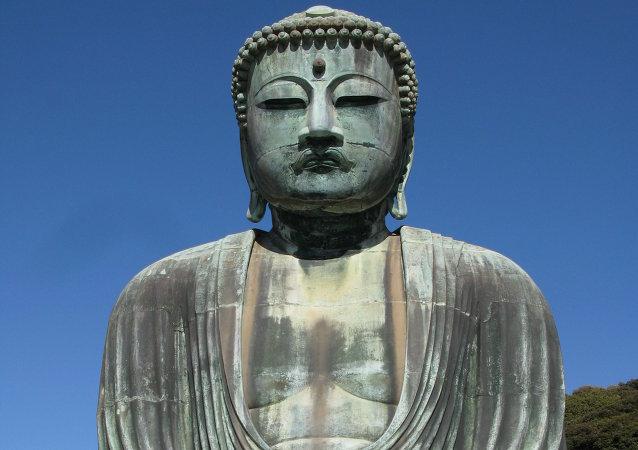 La plus grande statue du Bouddha refait surface en Chine