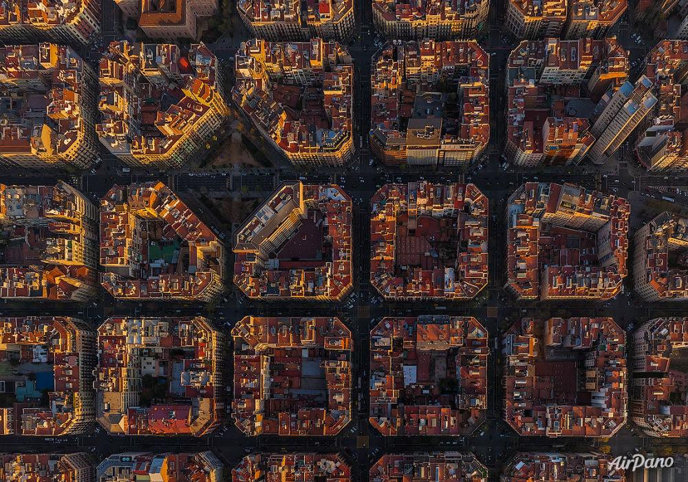 Des maisons à Barcelone, Espagne