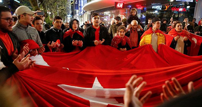 La diaspora turque en Allemagne proteste contre les résultats du référendum