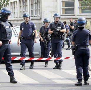 La police française