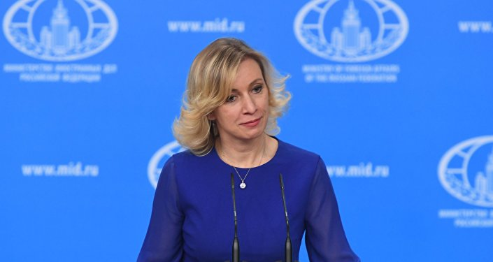 la porte-parole du ministère Maria Zakharova
