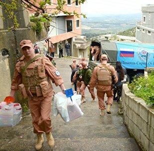La Russie continue à multiplier les actions humanitaires en Syrie